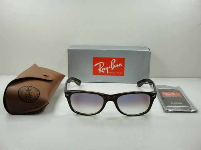 ed58bbd5a RAY-BAN NEW WAYFARER SUNGLASSES RB2132 710/S5 TORTOISE/VIOLET GRADIENT LENS  55MM