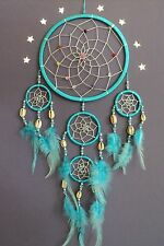 DREAM CATCHER TURQUOISE SILVER SHELL dreamcatcher STYLISH NEW GOOD QUALITY DC16
