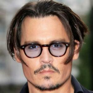 b974a9c981 Image is loading Vintage-Clear-Tinted-Lens-Johnny-Depp-Glasses-Fashion-