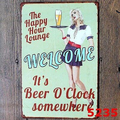 Metal Tin Sign highneken Decor Bar Pub Home Vintage Retro Poster Cafe ART