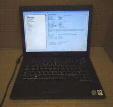 """Dell Latitude E6400 80GB HDD 14.1"""" Dual Core 2.4Ghz 2GB F553C A00 Black Laptop"""