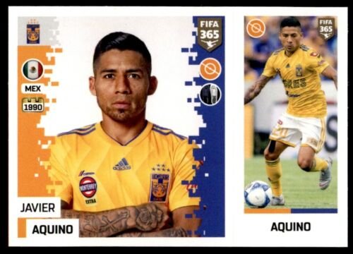 PANINI FIFA 365 2019-JAVIER AQUINO Tigres UANL-No 392