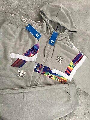 Détails sur Homme Adidas Originals BR8 Sweat à Capuche Haut & Bas Pantalon Survêtement Ensemble Rétro Décontractée afficher le titre d'origine