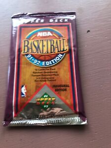 1991-92-Inaugural-Upperdeck-Basketball-Sealed-Pack