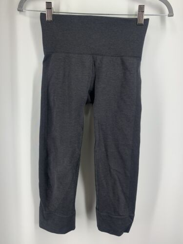 Lululemon Seamlessly Street Crop 2 Heathered Navy