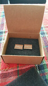 MAKER-039-S-MARK-CUFFLINK-039-S-NEW-IN-BOX