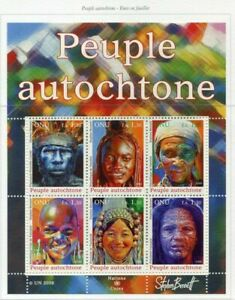 19756) United Nations (Geneve) 2008 MNH Nuevo Indigenous People 6v M/S