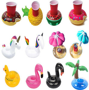 Attrayant Image Is Loading Fruit Donut Inflatable Drink Can Beer Holder Swimming