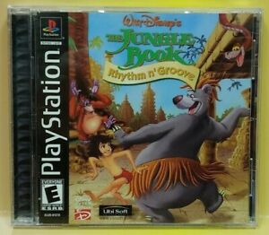 The Jungle Book ~ Playstation 1 2 PS1 PS2 Game Near Mint Disc Complete 1 Owner