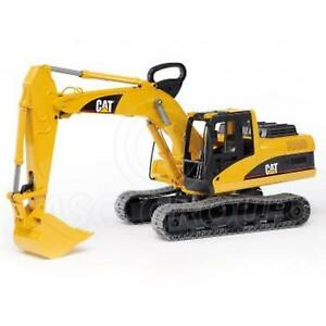 Details about Bruder Toys 02438 Pro Series CATERPILLER CAT Excavator Track  Machine 1:16 Scale