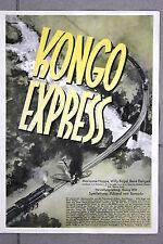 20383 FILM PLAKAT POSTER KONGO EXPRESS 1939 Marianne Hoppe Willy Birgel
