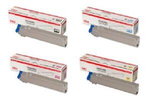 4-X-Original-CARTOUCHE-D-039-Encre-Oki-C9600-C9650-C9800-C9850-42918916-42918913