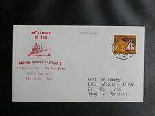 DEUTSCHE KRIEGSMARINE : MÖLDERS D-186 GUIDED MISSILE DESTROYER - FLOTTENPARADE