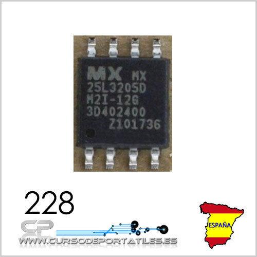 2 Unidades MX25L3205  MX25L3205DM2I 25L3205 MX25L3205D 25L3205D New Nuevo
