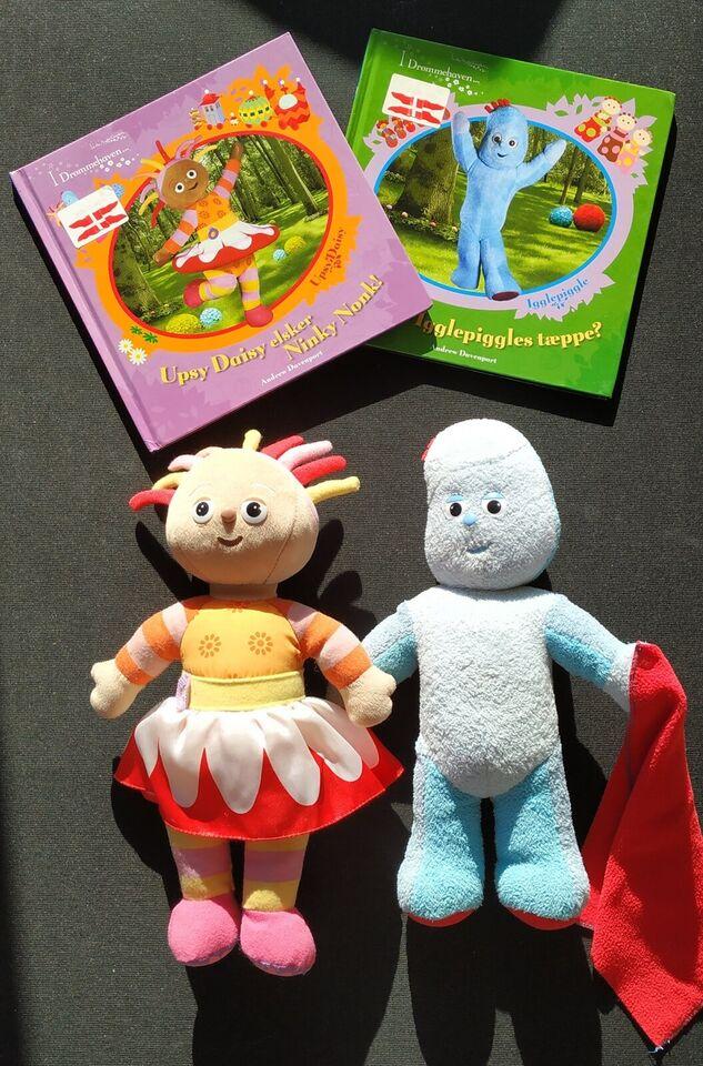 Andet legetøj, Bøger og dukker (med lyd), I Drømmehaven