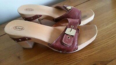 Natrelle Cathleen Ladies Brown Comfort Slip on Nursing Mule Sandal Shoes