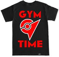 Gym Time Pokemon Go Team Valor Instinct Mystic Funny Humor Game Leader T Shirt