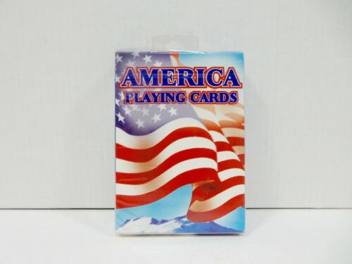 BICYCLE AMERICA PLAYING CARDS POKER SIZE *NEW AND SEALED*