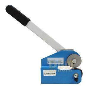 Mini 1 5mm Throatless Rotary Shear Plate Cutter Sheet