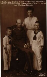 CPA-AK-Grossherzog-v-Mecklenburg-Schwerin-Familie-GERMAN-ROYALTY-867723