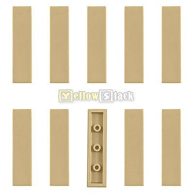 Kachel 1 x 6 Lego--6636 Tan//Beige 4 Stück Fliese- Platte