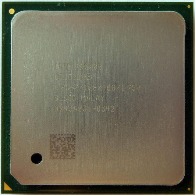 Intel Celeron CPU 1.80 GHz / 128K Cache /400 MHz FSB Processor SL68D