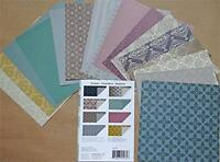 Origami Paper Damask 6x6 24 Sheets, New, Free Shipping