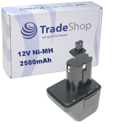 Trade-Shop AKKU 12V Ni-Mh 2500mAh für Würth Blindnietgerät ANG12 070291510061