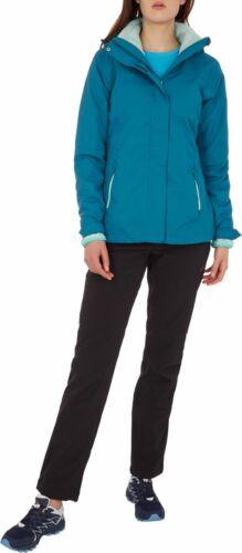 McKinley Damen Wander-Freizeit-Doppeljacke Terang II Inlet 3 in 1 Jacke blau