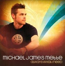 Audio CD Always What I Need - Mette, Michael James - Free Shipping
