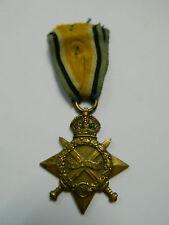 WW1 Medal 1914-15 Star British Empire Medaille Orden Weltkrieg