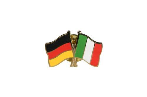 Deutschland Italien Flaggen Pin Fahnen Pins Fahnenpin Flaggenpin Anstecker