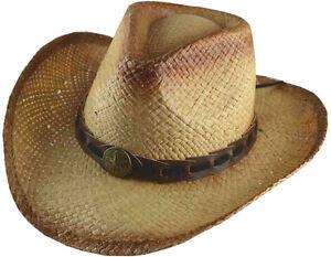 Caricamento dell immagine in corso 100-Paglia-Cappello-da-Cowboy-037 467f25d1a16e