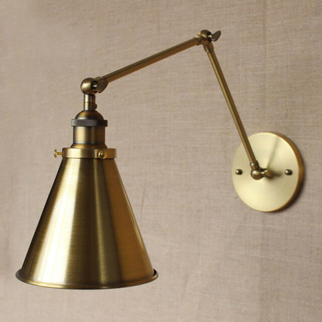 Swing Arm Wall Sconce Light