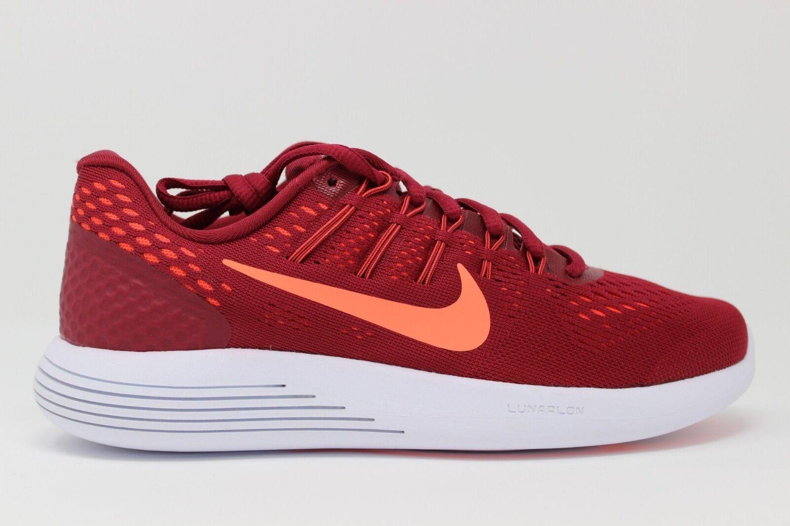 Nike women Lunarglide 843726 600 Noble red Brillante Mango Nuovo