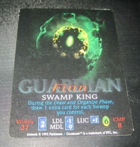 Guardians-Finn-Swamp-King-trading-card-game-tcg-ccg-Rare-2-1995