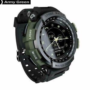 MK28-Sport-Smart-Watch-Bluetooth-4-0-Waterproof-Digital-Watch-Outdoor-Army-Green
