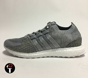 d4ad8e911 ADIDAS X PUSHA T EQT SUPPORT ULTRA PK 4-13 GREY WHITE BOOST S76777 ...