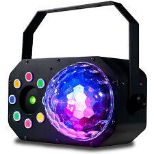 ADJ Stinger Star 3-In-1 LED Wash / Moonflower / Red and Green Laser Effect Light