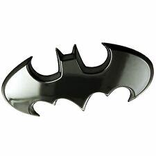 Batman Car Emblem Batwing 3d Black Chrome Dc Comics Automotive Sticker Badge