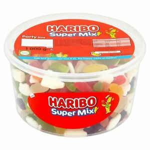 1 Kg Haribo Super Mix Rétro Bonbons Friandises De Pâques Fête 1000 G (dans Sweet Sac)-afficher Le Titre D'origine RéTréCissable