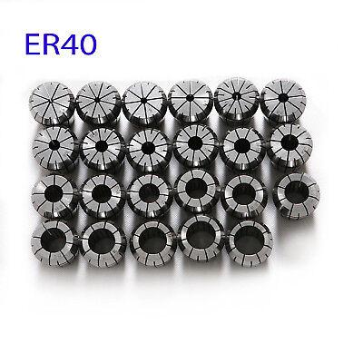 4-26mm ER40 Spring Collet Chuck Tool Bit Holder For CNC Milling Lathe Chuck NEW