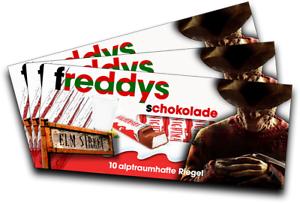 Kataloge Werden Auf Anfrage Verschickt Für Kinderschokolade motiv 4 3x Aufkleber Freddy KrÜger geschenk, Gadget