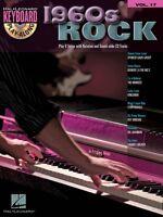 1960s Rock Sheet Music Keyboard Play-along Book And Cd 000700935