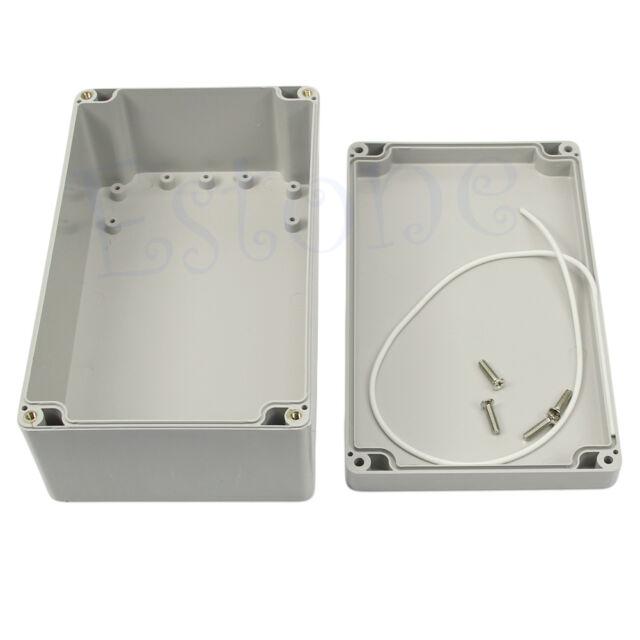 """Hot Plastic Waterproof Project Box Enclosure 7.87"""" X 4.72"""" X 2.95"""" (L X W X H)"""