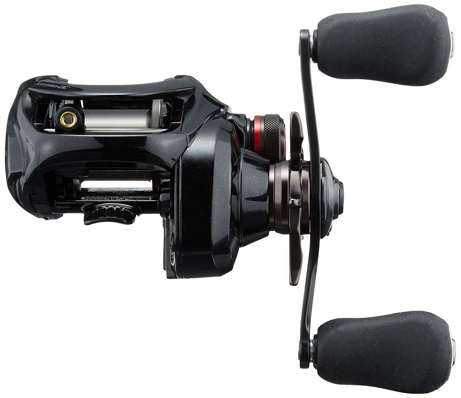 SHIMANO SHIMANO SHIMANO 17 Scorpion DC 101 LEFT Baitcasting Reel S A-RB X-SHIP New in Box 866438
