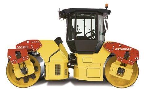 Dynapac CC424HF Asphalt Roller Roller Roller   taxi échelle 1/50 Modèle par Motorart 13386 | Exquis Art  971418