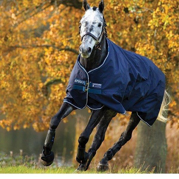 Horseware Horseware Horseware Amigo BRAVO 12 lite Regendecke Übergangsdecke Outdoordecke Linersystem 906fd4