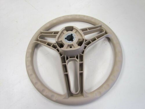 "STEERING WHEEL TAN PLASTIC 3//4/"" TAPERED KEYWAY 13/"" MARINE BOAT"