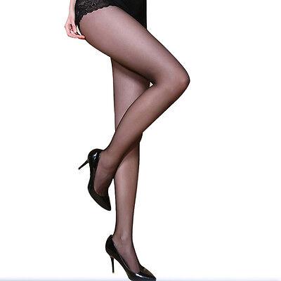 BONUZ Plus Size Ultra Elastic Tights Stockings Women Shaping Pantyhose Socks 30D